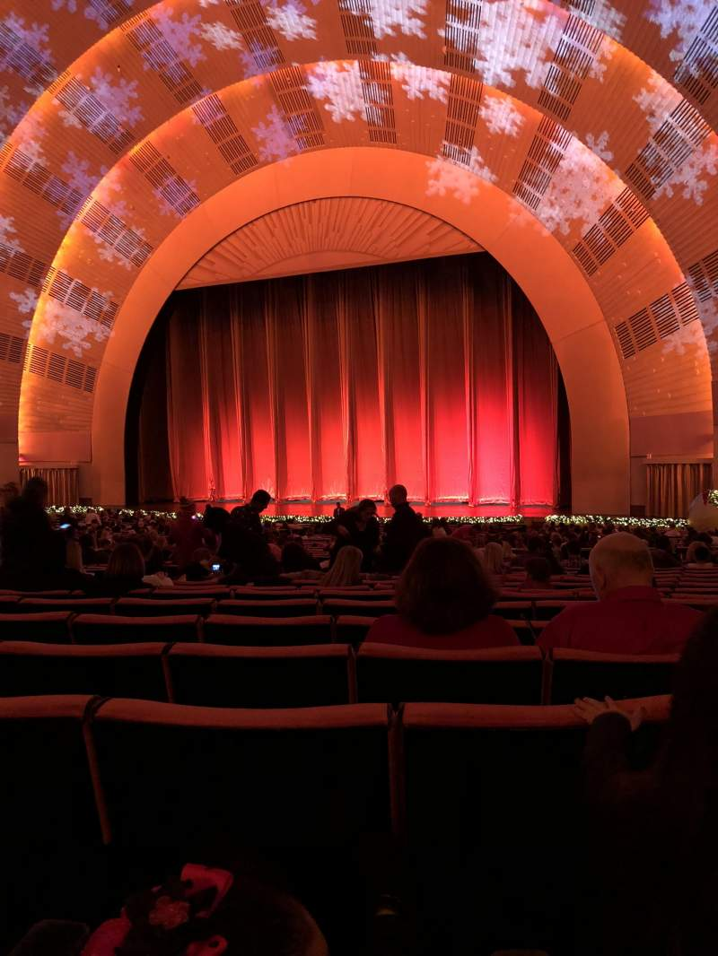 Radio City Music Hall, section: Orchestra 2, row: O, seat: 203