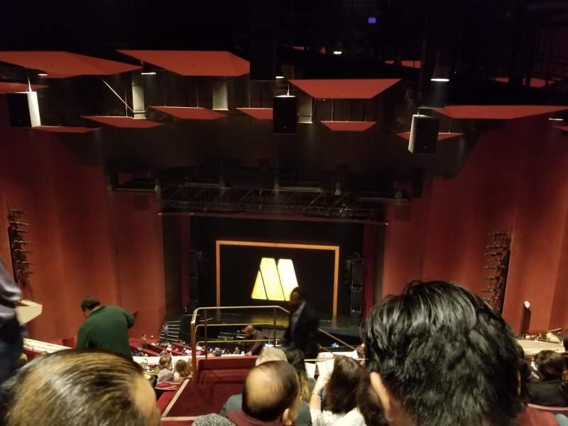 San Diego Civic Theatre, section: Rear balcony, row: AA, seat: 18