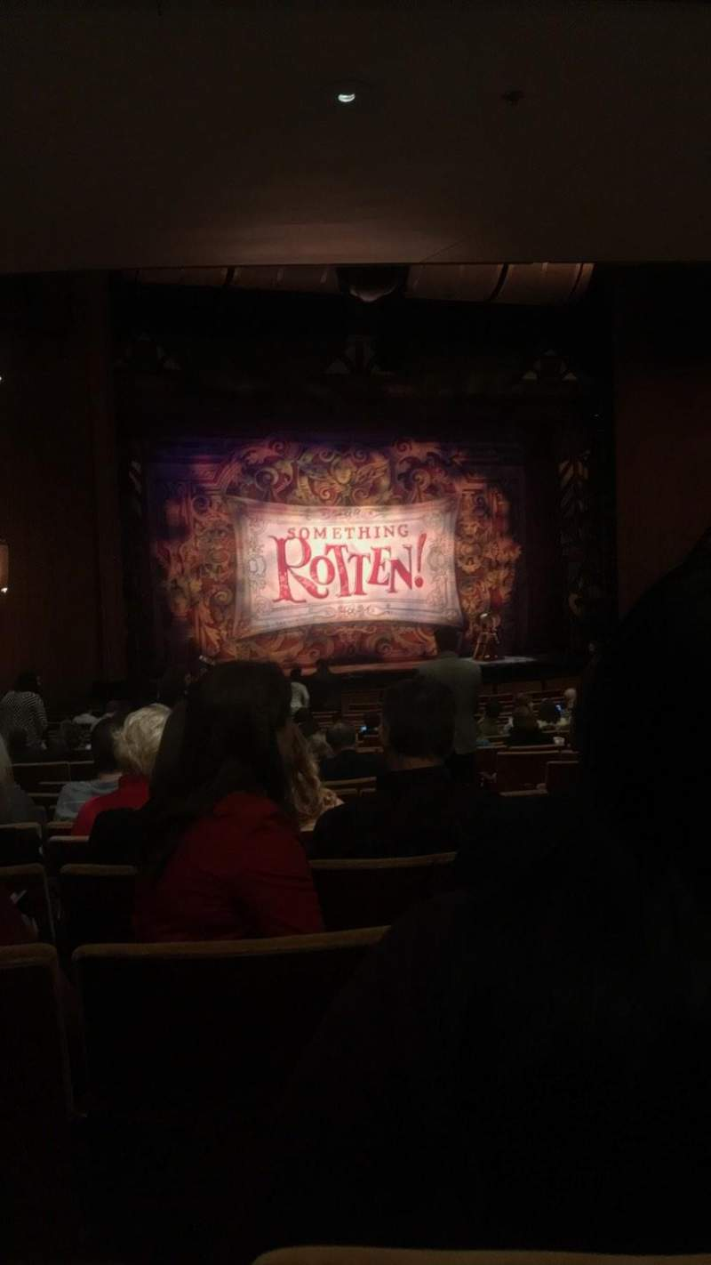 Ahmanson Theatre, section: Orch, row: W, seat: 45