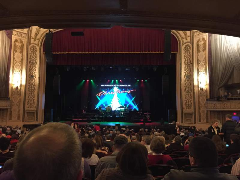 Orpheum Theatre (Omaha), section: Orchestra, row: Y, seat: 116