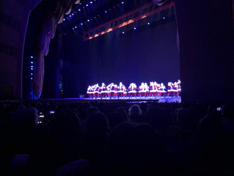 Seating view for Radio City Music Hall Section Orchestra 2 Row LL Seat 204