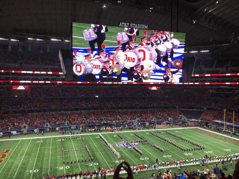 AT&T Stadium, section: C338, row: 16, seat: 6