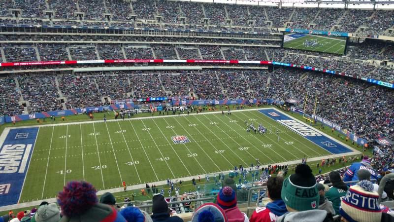 MetLife Stadium, section: 316, row: 7, seat: 4