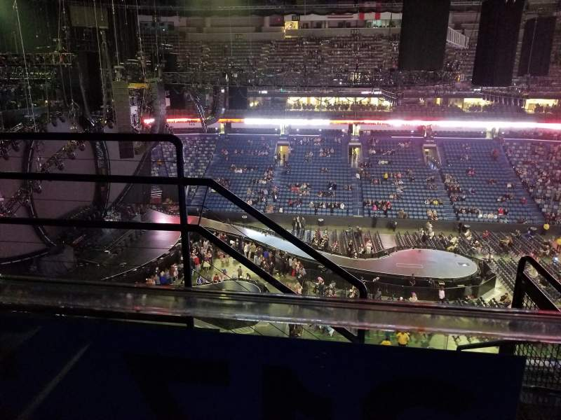 Smoothie King Center, section: 316, row: 5, seat: 17