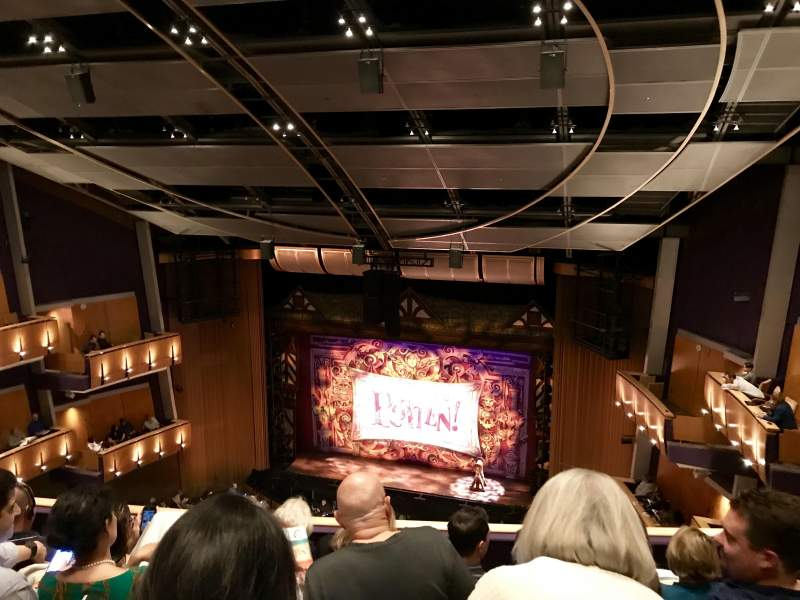 Seating view for Ahmanson Theatre Section Balcony Row D Seat 11