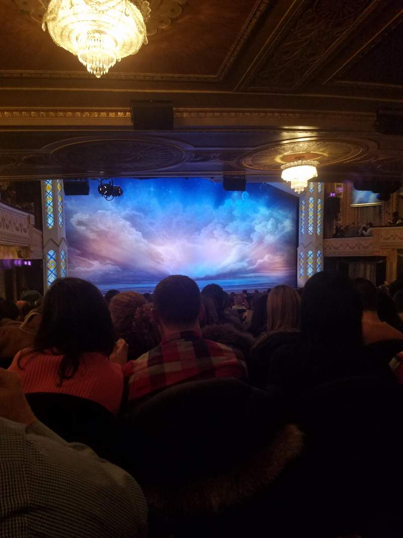 Seating view for Eugene O'Neill Theatre Section Orchestra L Row T Seat 11