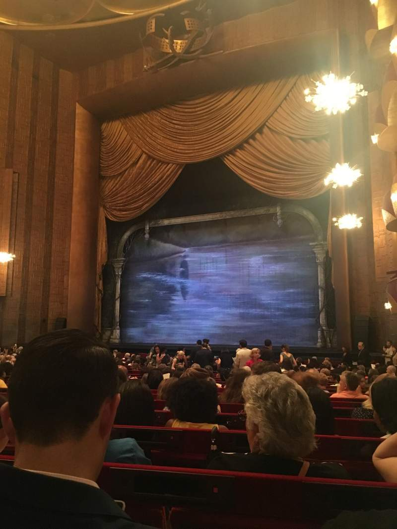 Seating view for Metropolitan Opera House - Lincoln Center Section Orchestra Prime Row W Seat 22