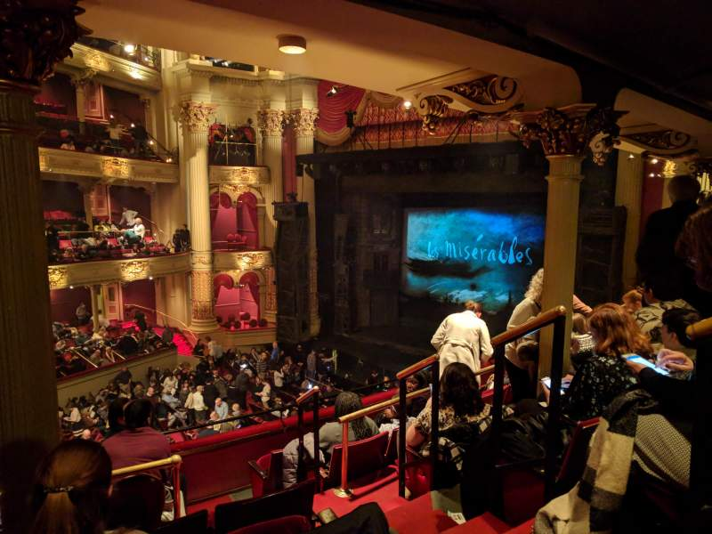 Seating view for Academy of Music Section Balcony C Row D Seat 38