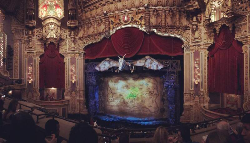 Seating view for Nederlander Theatre (Chicago) Section Loge RC Row C Seat 326