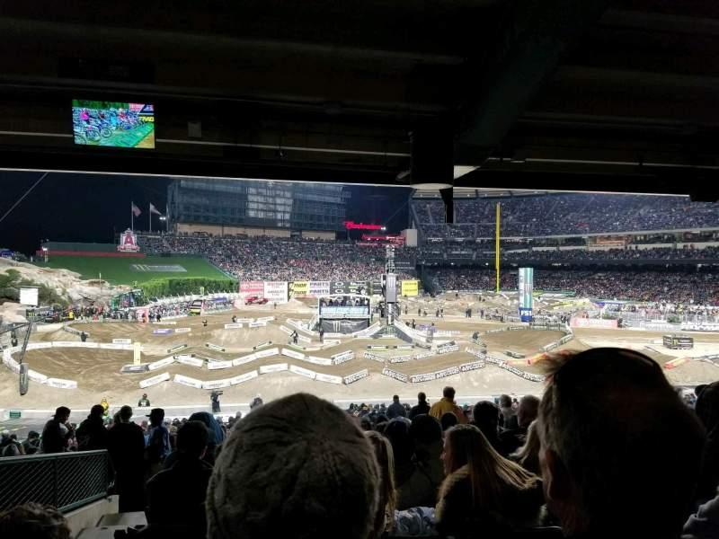 ANGEL STADIUM, section: T206, row: K, seat: 11