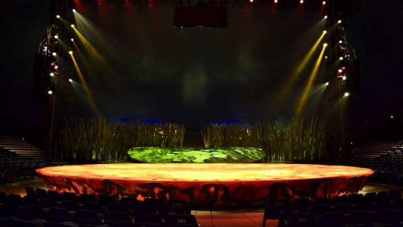 Seating view for Cirque Du Soleil - Totem Section 101 Row F Seat 1