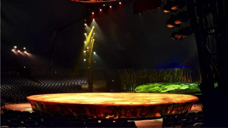 Seating view for Cirque Du Soleil - Totem Section 102 Row D Seat 9