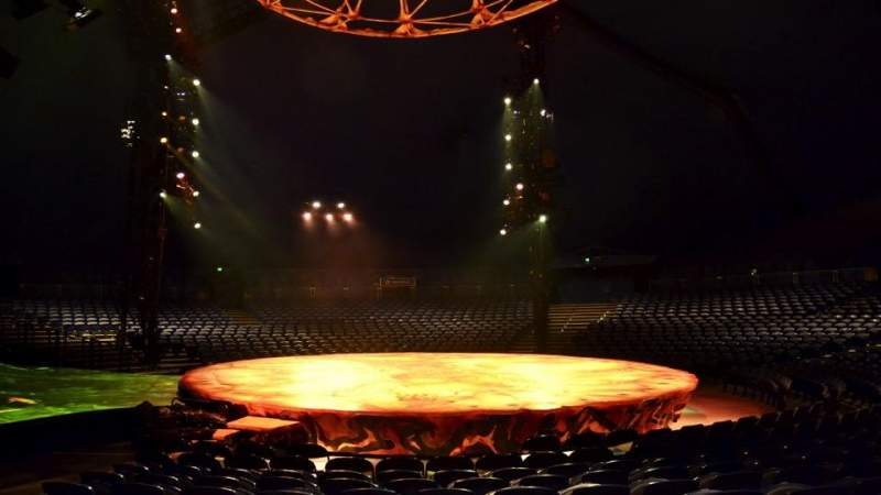 Seating view for Cirque Du Soleil - Totem Section 103 Row I Seat 26