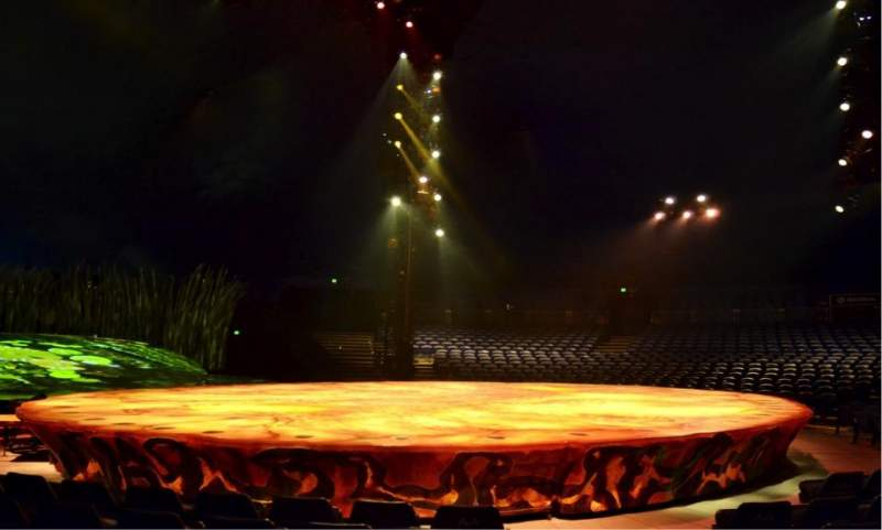Seating view for Cirque Du Soleil - Totem Section 105 Row E Seat 1