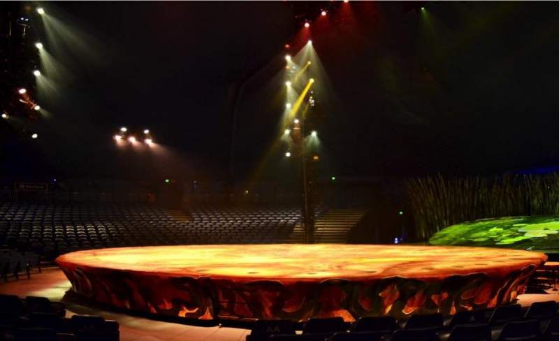 Seating view for Cirque Du Soleil - Totem Section 106 Row E Seat 1
