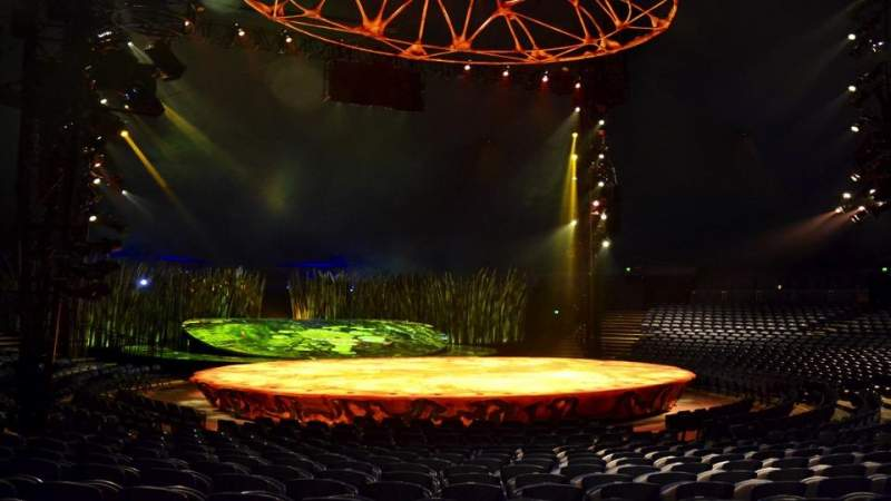 Seating view for Cirque Du Soleil - Totem Section 201 Row L Seat 3