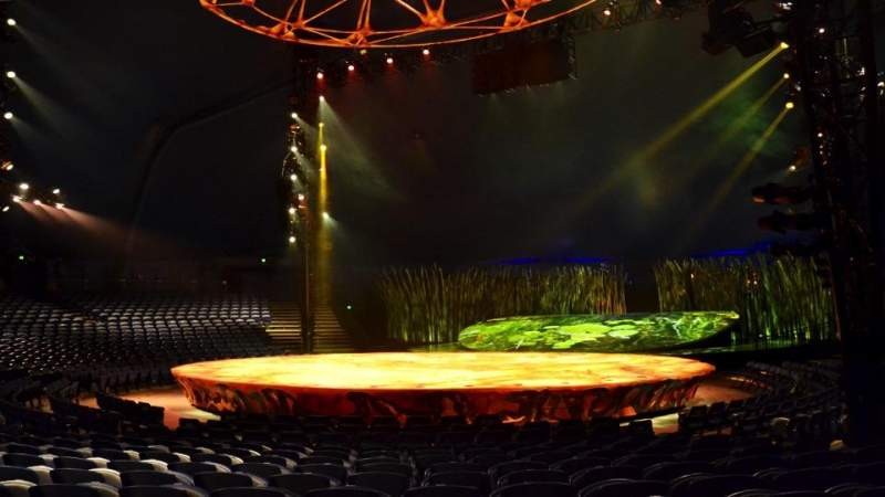 Seating view for Cirque Du Soleil - Totem Section 202 Row J Seat 6