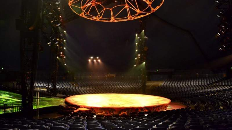 Seating view for Cirque Du Soleil - Totem Section 205 Row M Seat 1