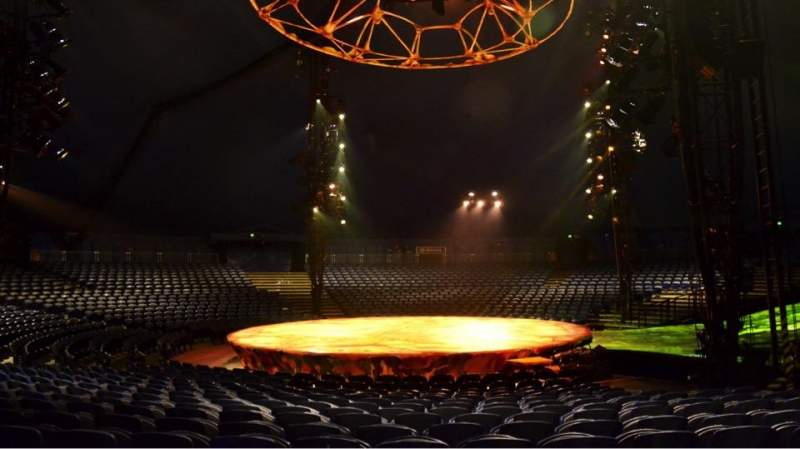 Seating view for Cirque Du Soleil - Totem Section 206 Row M Seat 1
