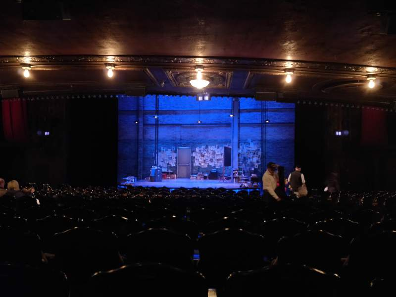 Studio 54 section orchestra row p seat 104 latin history for