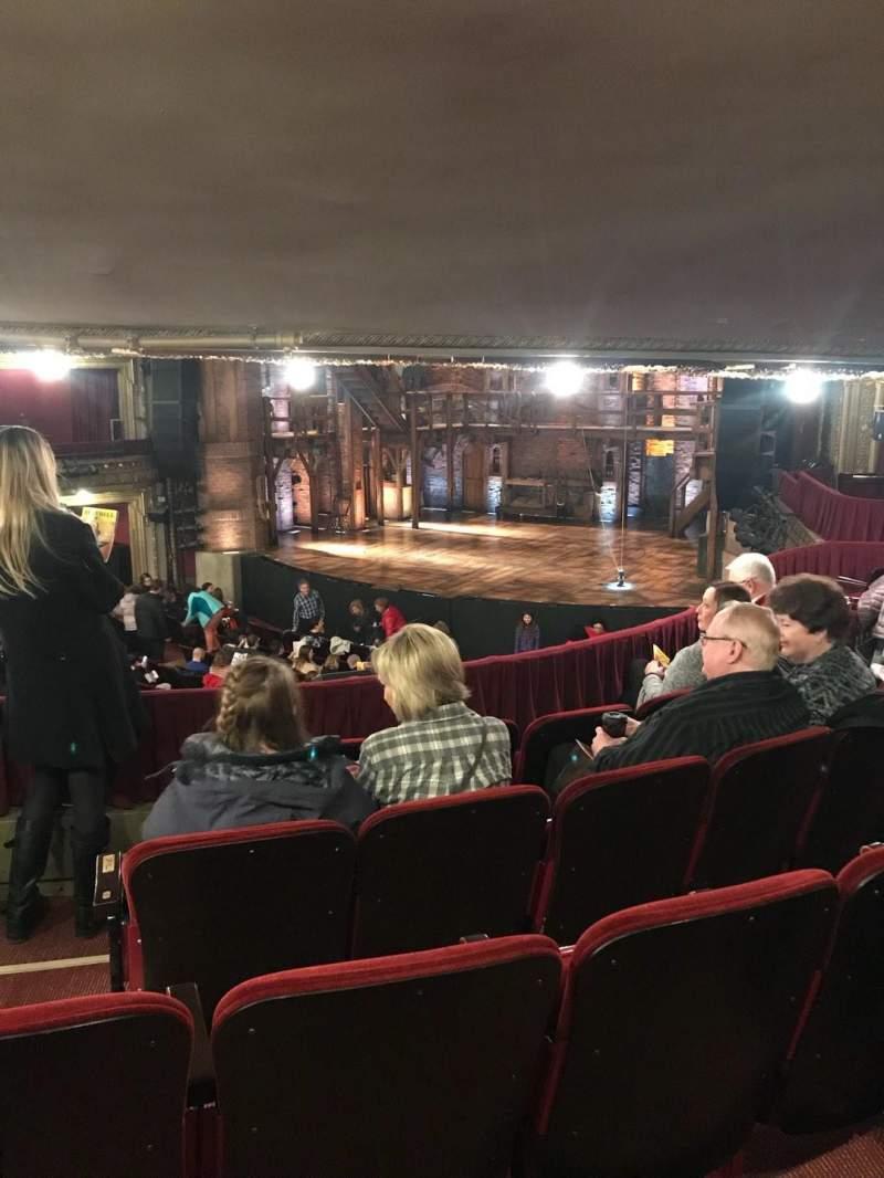 CIBC Theatre, section: Dress Circle R, row: E, seat: 6