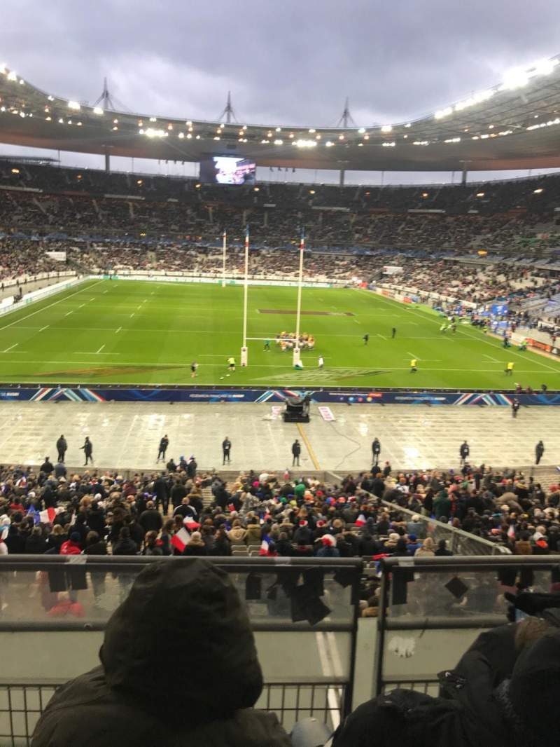 Seating view for Stade de France Section L12 Row 37 Seat 25