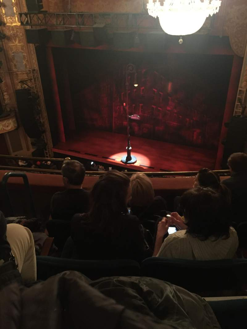 Longacre Theatre, section: Right Balcony, row: D, seat: 7