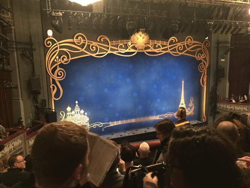 Seating view for Broadhurst Theatre Section Mezzanine L Row F Seat 9