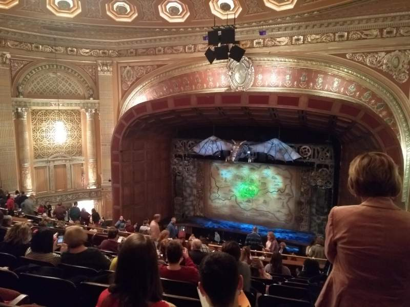 Benedum Center, section: Second Tier Right Center, row: K, seat: 36