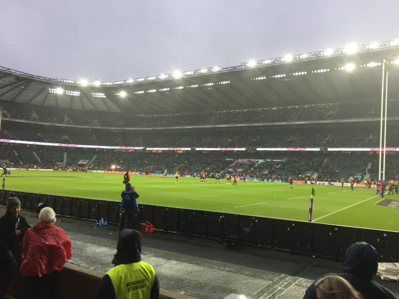 Seating view for Twickenham Stadium Section L21 Row 3 Seat 93