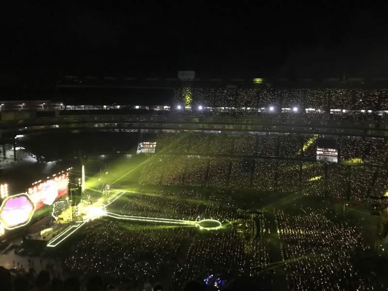 Gillette Stadium, section: 309, row: 20, seat: 7
