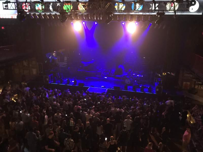 Seating View For House Of Blues   Boston Section Box 6 Row E Seat 101