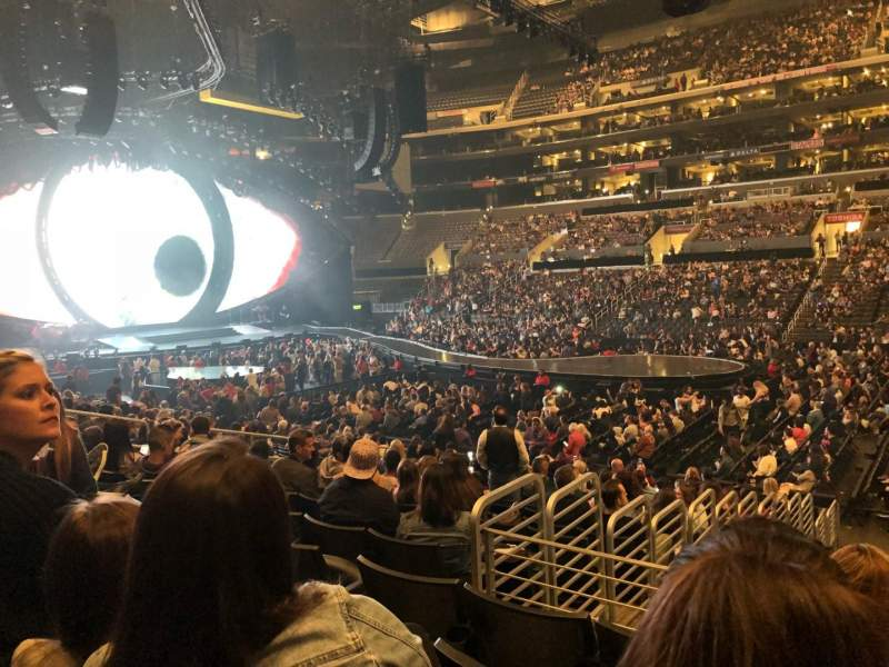 Staples Center, section: 110, row: 17, seat: 14