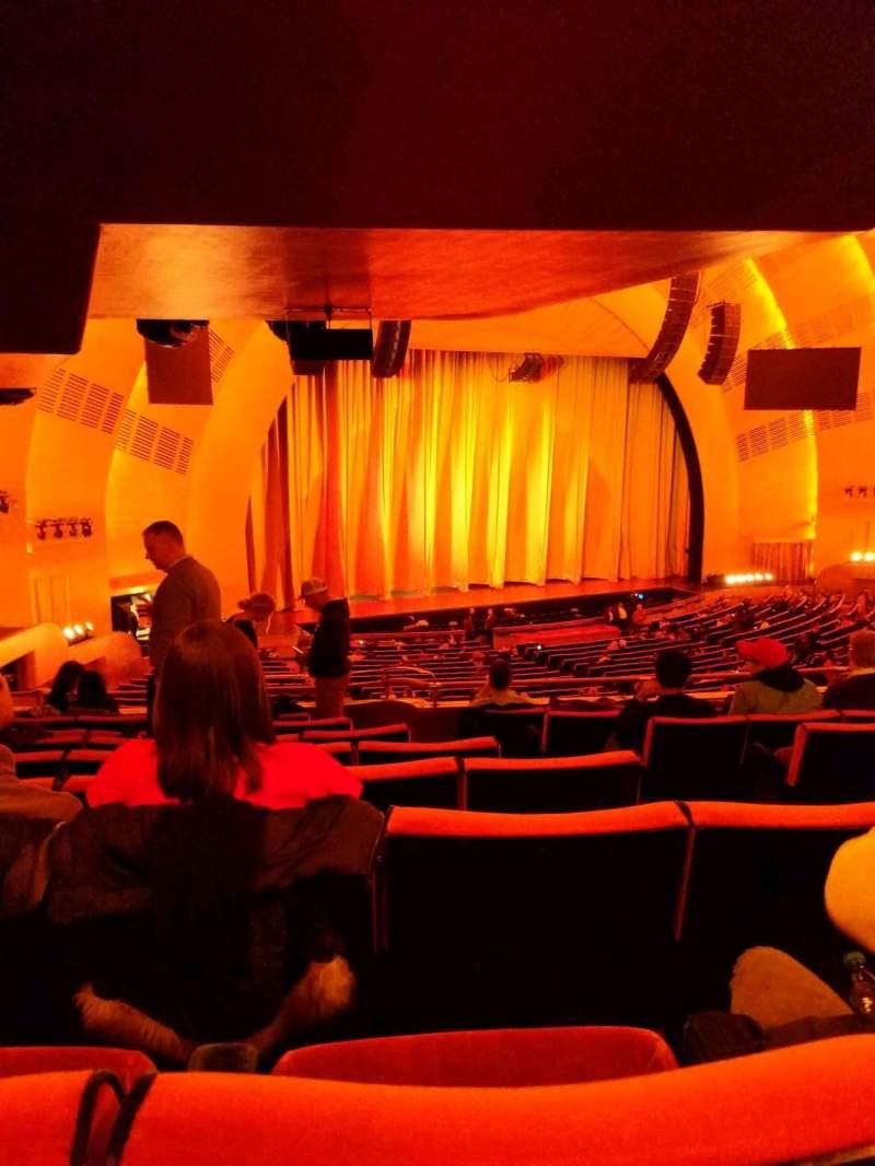 Radio City Music Hall, section: 1st mezzanine 7, row: h, seat: 704