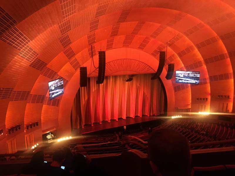 Seating view for Radio City Music Hall Section 3rd mezzanine 7 Row D Seat 702