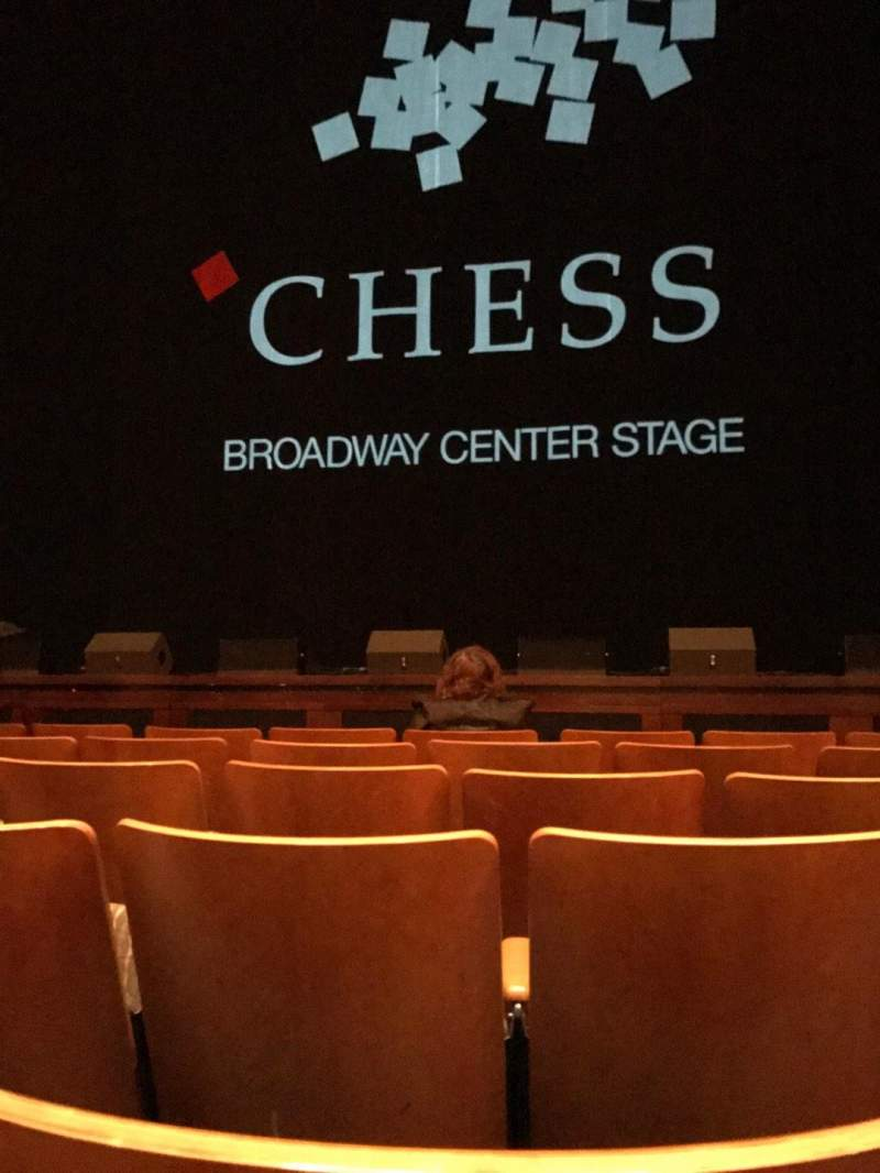 Seating view for The Kennedy Center Eisenhower Theater Section Orchestra Row F Seat 105