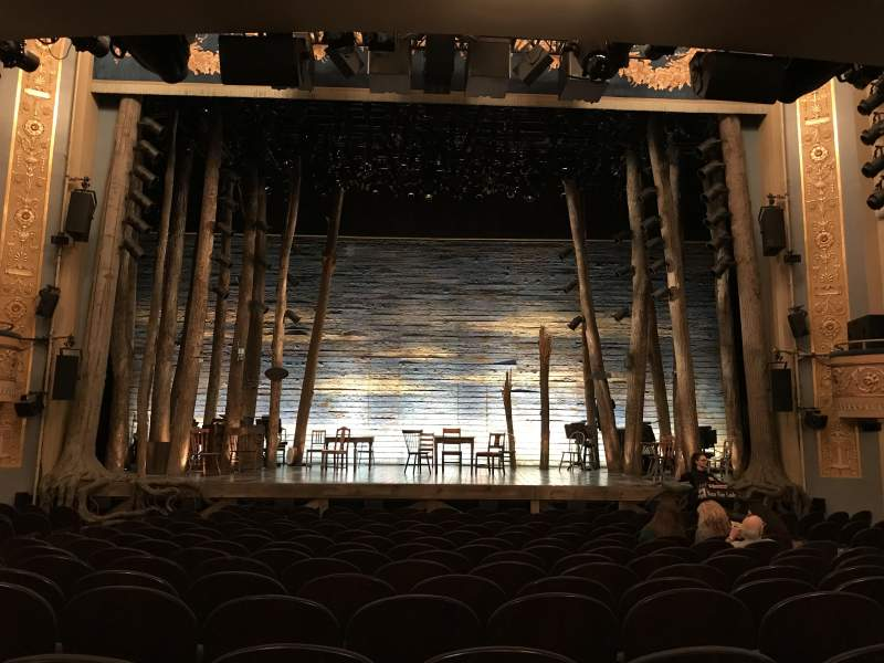 Gerald Schoenfeld Theatre Section Orchestra C Row C Seat 107