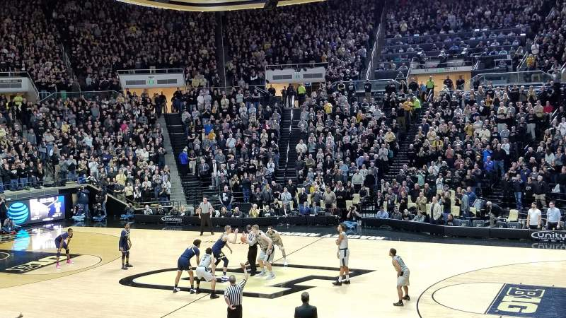 Seating view for Mackey Arena Section 17 Row 16 Seat 11