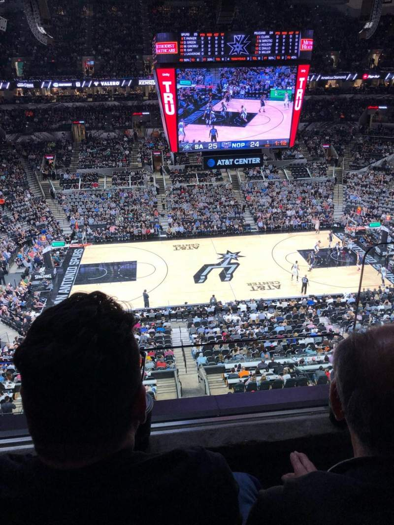 AT&T Center, section: 209, row: 2, seat: 2