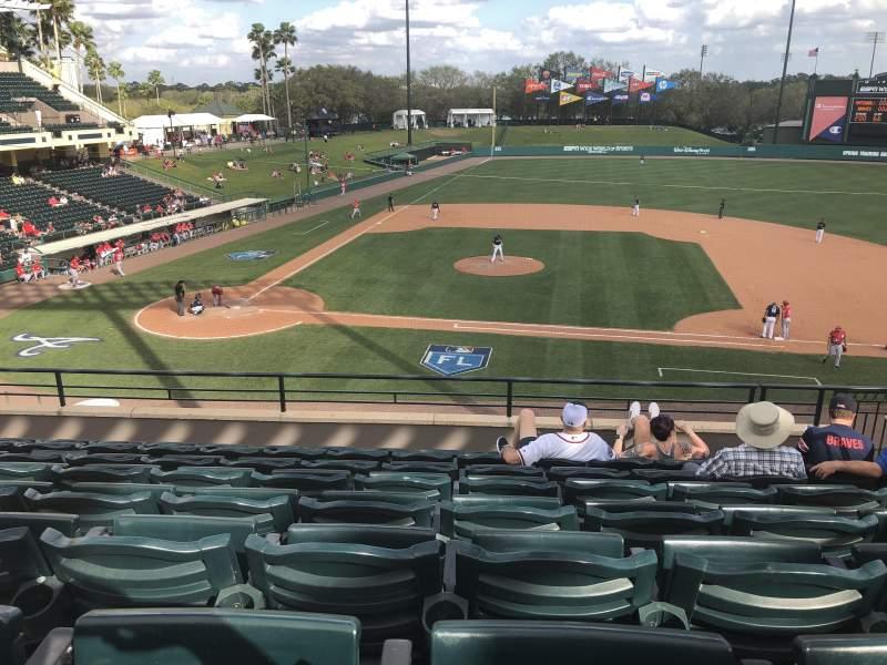 Champion Stadium, section: 209, row: H, seat: 7