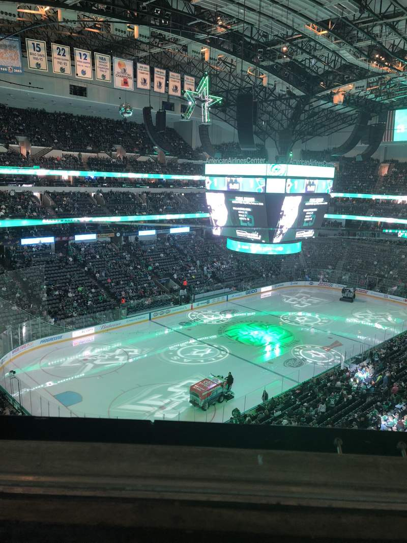 Seating view for American Airlines Center Section 314 Row A Seat 9