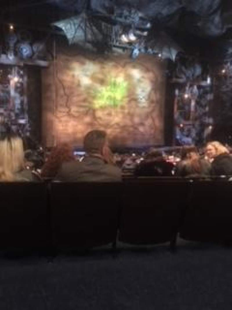 Gershwin Theatre, section: Orchestra Left, row: Q, seat: 13