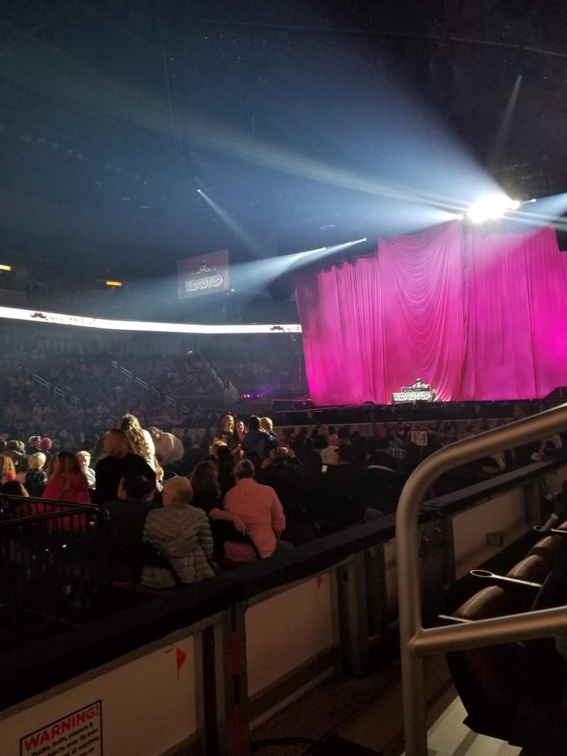 Intrust Bank Arena, section: 104, row: B, seat: 1