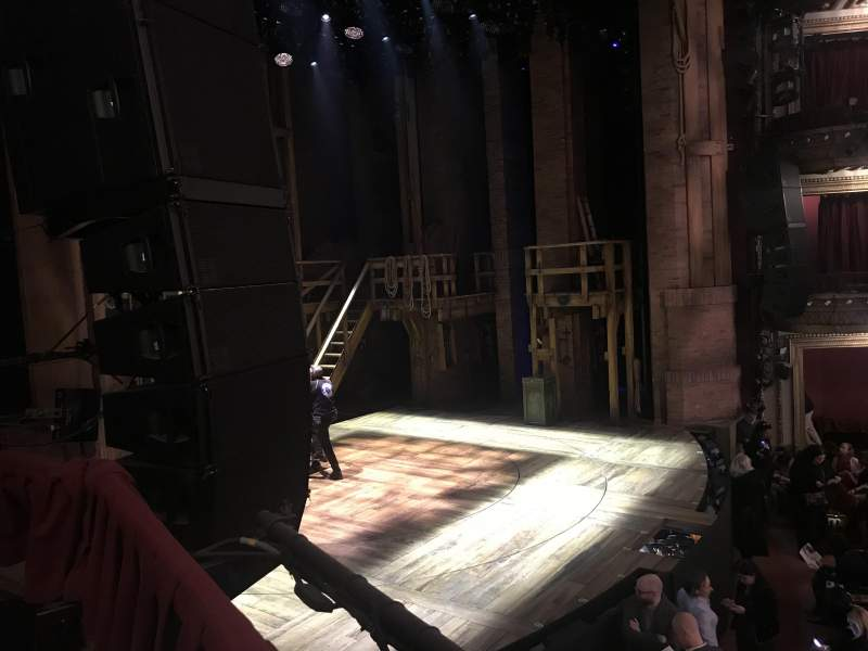 Seating view for CIBC Theatre Section Dress Circle Row Box 3 Seat 1