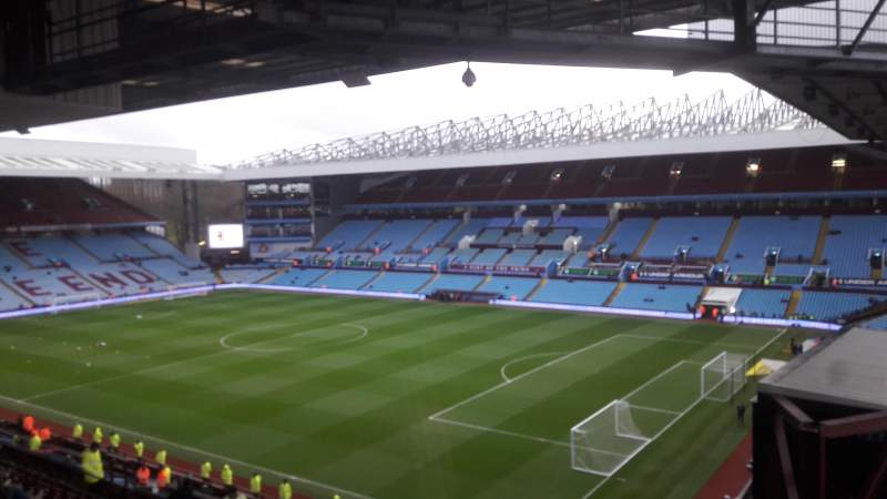 Seating view for Villa Park Section P11 Row OO Seat 2