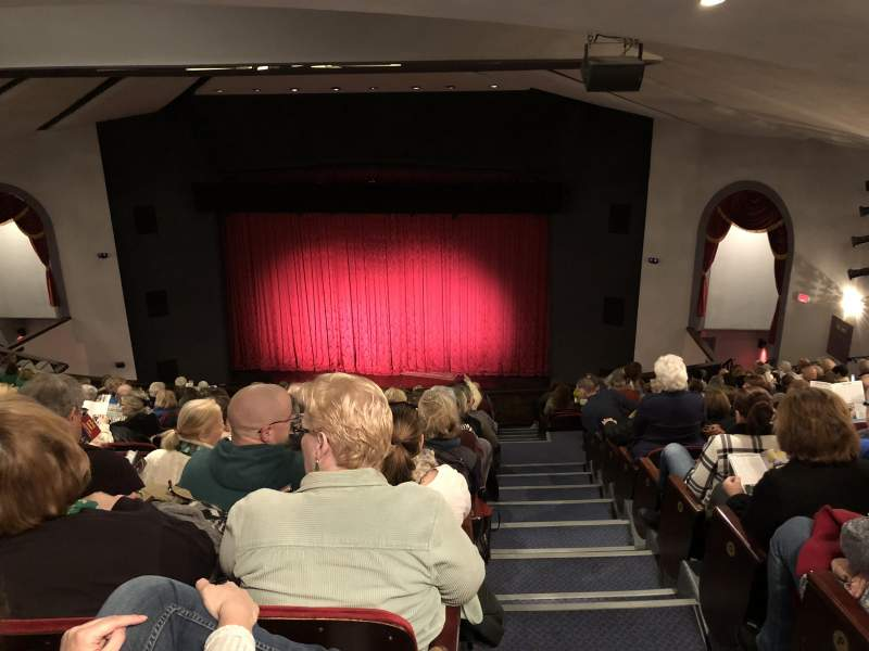 Seating view for Walnut Street Theatre Section Mezz Right Row R Seat 303