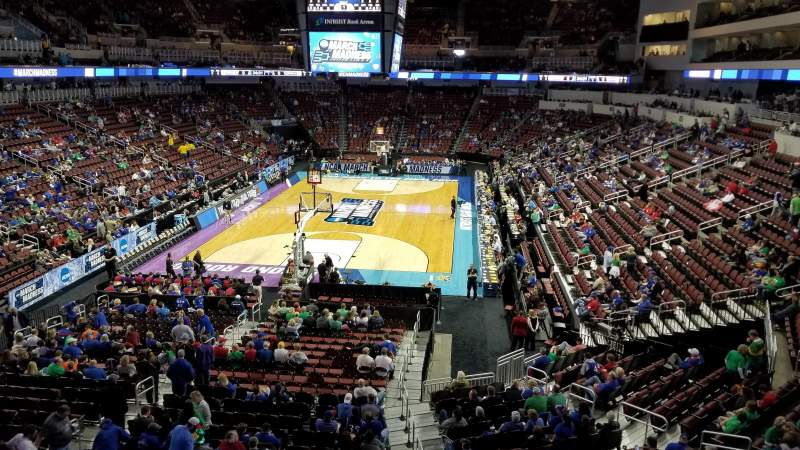 Intrust Bank Arena, section: 208, row: A, seat: 16