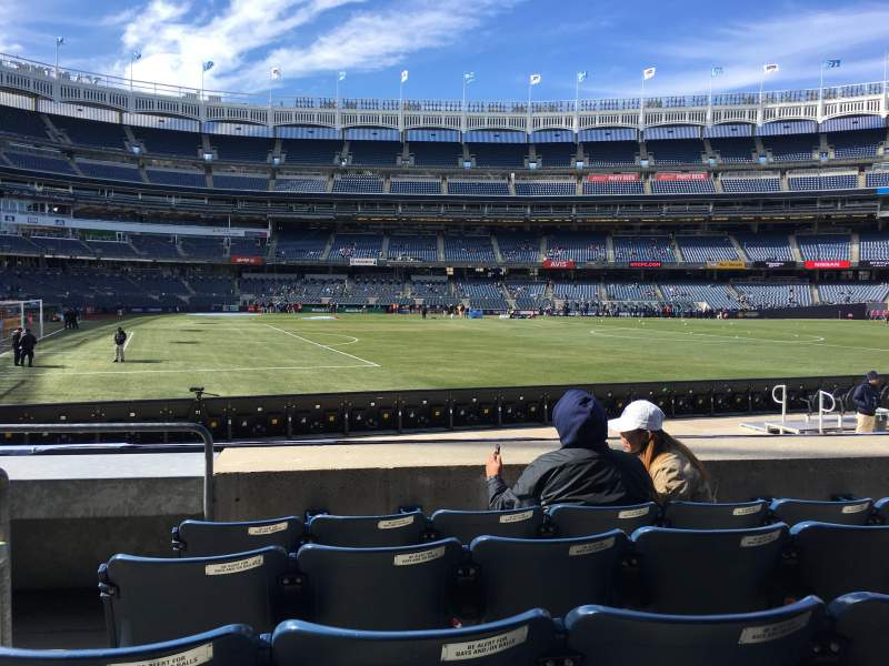 Yankee Stadium, section: 105, row: 5, seat: 23