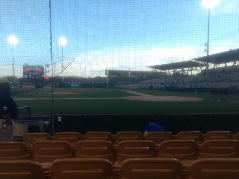 Camelback Ranch, section: 19, row: 5, seat: 7