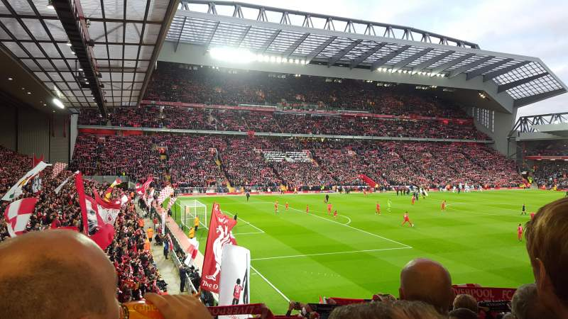 Anfield, section: Kop grandstand, row: 40